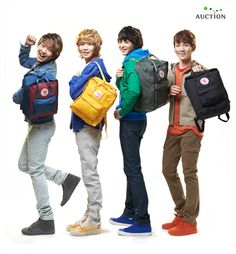 SHINee with Kånken Classic