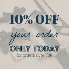 Enjoy 10% off and our 3-day DHL delivery!