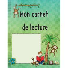 Carnet de lecture 1er cycle Cycle, Boutique, Comics, Classroom Ideas, Catalog, Products, Elementary Schools, Boutiques