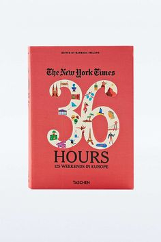 36 Hours 125 Weekends in Europe Book - Urban Outfitters