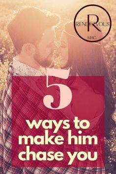 5 Ways To Make Him Chase You Couple Relationship, Relationship Issues, Relationships Love, Make Him Chase You, Make Him Want You, How To Make, Online Dating Advice, Dating Tips For Women, How To Be Irresistible