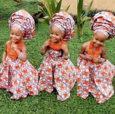 Finding Modern African Style for your little one can sometimes require finding African themed stores near you or checking through magazines. To spare you these issues we've assembled a rundown of charming African motivated attire for kids. So Cute Baby, Baby Kind, Cute Kids, Cute Babies, African Wear, African Attire, African Dress, African Fashion, Kids Fashion