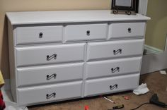 Dresser Remodel | Real Person in Real Life