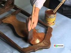 How to refinish old wood furniture with Minwax expert Bruce Johnson. Restore Wood Furniture, Stripping Furniture, Furniture Care, Funky Furniture, Refurbished Furniture, Painted Furniture, Antique Furniture Restoration, Into The Woods, Antique Chairs