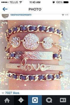 Love grey and jewels