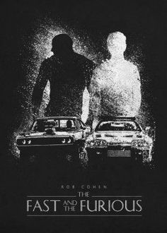 High-quality metal print from amazing Classic Movie Posters collection will bring unique style to your space and will show off your personality. the fast and the furious wallpaper Movie Fast And Furious, Furious Movie, The Furious, Paul Walker Poster, Paul Walker Movies, Vin Diesel, Dominic Toretto, Classic Movie Posters, Alternative Movie Posters