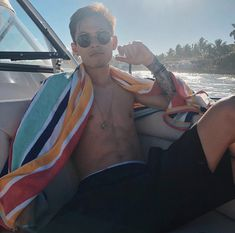 Carter Reynolds, Sunglasses Women, Boat, Nude, Sexy, Swimwear, Magcon Boys, Little Girls, I Promise