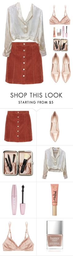 """""""Sugar rose"""" by aby-ocampo ❤ liked on Polyvore featuring Theory, Nicholas Kirkwood, Bobbi Brown Cosmetics, Chanel, Forever 21, Too Faced Cosmetics, Rituel by Carine Gilson and Butter London"""