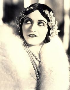Pola Negri, Polish silent film star, born as Apolonia Chałupiec. She used to date Rudolph Valentino :)