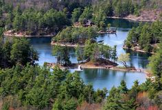 a few of the thousand Islands NY