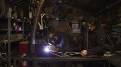 """BTR Fabrications – Paul Burford and Tam Hamilton of BTR Fabrications build custom hardtail bikes that are meant to be ridden downhill. Love some of their quotes from the second half of the film, in particular. """"When a bike is going to work right, it's going to look right as well."""" """"You could say..."""