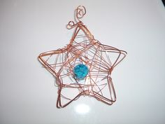 Metal Wire Christmas Decorations Made By LeenaH LeenaHs Own - Diy copper stars for christmas decor