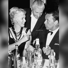Marilyn with Frank Sinatra at a Hollywood function.  #MarilynMonroe #NormaJeane #Hollywood #classic #vintage #1950s #OldHollywood #1960s #immortal #instacool #instadaily #instalike #l4l #s4s #icon #idol #Marilynette #Manroes #MM