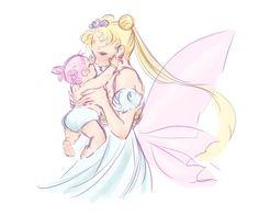 kittycatkissu:  Random Sailor Moon doodles~
