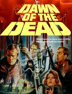 Dawn of the Dead 1978 Horror Movie zombies Fan made Re Edit MF