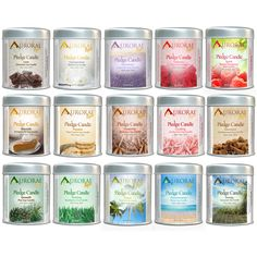 Aurorae Scented 100% Soy Wax Candles available in 15 scents! 6.8oz of ...
