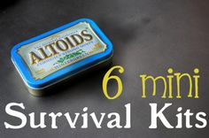 6 DIY mini survival kits