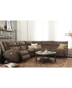 Emma 3 Piece Reclining Sectional Sam S Club Sectional Sofa With Recliner Reclining