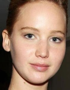 12 best jennifer lawrence no make up images  jennifer