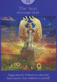 Angel Tarot Deck - The Sun Archangel Uriel 19