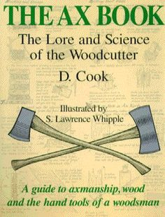 The Ax Book is a thorough guide to cutting wood with hand tools.The author explains how to use various types of axes, hatchets, mauls, saws and wedges to take down trees and prepare firewood. In addition he shows every aspect of dealing with wood from the forest right to the hearth or stove.