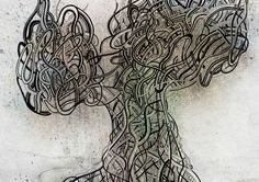 Tree of life #1 by Sonia Da Conceicao, via Behance #drawing #illustration #tree #arbre