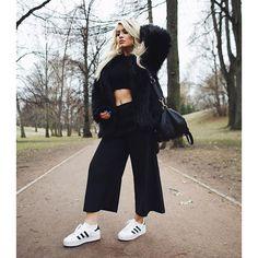 adidas superstar rize black on Instagram