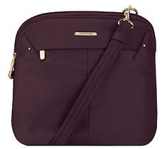 Travelon Anti-Theft Domed Crossbody with RFID