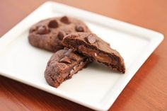 Nutella Cookies.     I am now accepting applications for a wife. Cooking and baking skills required.