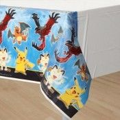 Party Supplies Pokemon Birthday Table Cover Measures 54 In X 96 In, 36 Sq Ft & Garden Pokemon Party Supplies, Unicorn Party Supplies, Baby Shower Party Supplies, Birthday Table, 6th Birthday Parties, Pokemon Table, Luau Party Decorations, Moana Themed Party, Gender Reveal Party Supplies