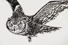 Linocut and letterpress art prints by Patrice Aarts Etsy shop