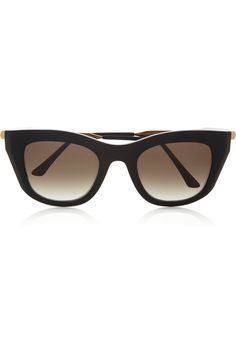 9e4cfea7ee Thierry Lasry Supremacy cat eye acetate and metal sunglasses Lenses