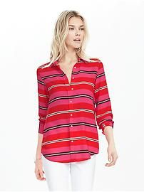 Dillon-Fit Multi Stripe Shirt