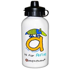 Personalised Bang on the Door Animal Alphabet Boys Drinks Bottle  from Personalised Gifts Shop - ONLY £14.99