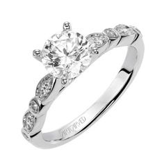 ArtCarved since With one of the largest selections of engagement rings and wedding bands, you'll find a ring that's as unique as you are. Available in platinum, palladium, and both and white and yellow gold. Let's Get Married, Round Diamonds, Wedding Bands, Engagement Rings, Simple Things, Unique, Classic, Floral, Gold