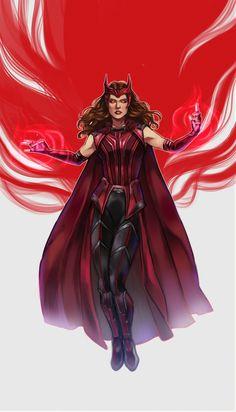Marvel Comics, Marvel Dc Movies, Marvel Fan Art, Marvel Series, Marvel Characters, Marvel Avengers, Marvel Comic Universe, Marvel Cinematic Universe, Wanda Marvel