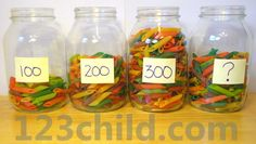 Here's a great idea for using noodles for estimation activities.
