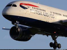 British Airways G-ZBJA Boeing 787-8 Dreamliner aircraft picture