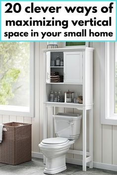 Over-the-toilet storage