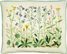 Weeds of the Garden Pillow