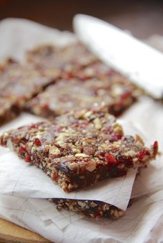My Happy Place: Homemade Energy Bars