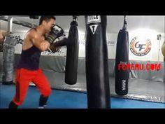 Clases de Boxeo para principiantes - Escuela de Boxeo: Esquive de recto, gancho y uppercut - YouTube