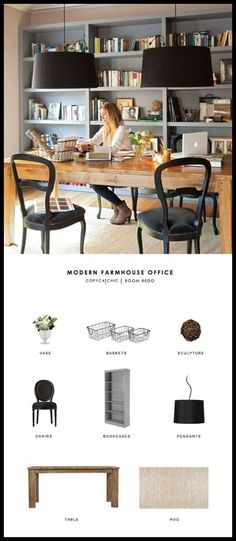 Home Office - Home Office Organization Now Made Easy -- Want to know more, click on the image. #HomeOffice