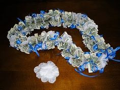 great gift for graduation...money necklace and I just know someone who is graduating. Hmmm!