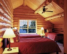 Adapting Rustic Home Decor - Rustic Home Decor - Lakeside Cottage, Cabins And Cottages, Rustic Interiors, Log Homes, Cabin Bedrooms, Rustic Bedrooms, Colorful Interiors, Rustic Decor, Furniture