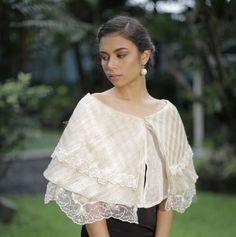 Philippine Fashion, Filipino Fashion, Asian Fashion, Retro Fashion, Modern Filipiniana Gown, Filipiniana Wedding, Filipino Wedding, Philippines Culture, Sunday Dress