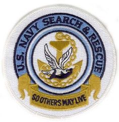 """Navy Search and Rescue """"So others may live"""" emblem Us Marines, Search And Rescue, Us Navy, Military, Tattoo, Live, Etsy, Awesome, Animals"""