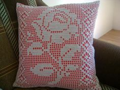 Crochet Cuscion Cover