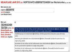 4000 deutsch-englisch Texte /Ausdruecke: aus Elektronik /EDV /Mechatronik /Maschinenbau(Uebersetzung