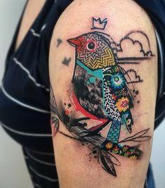 Sedarri bird tattoo
